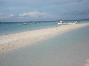 Sugar beach, Bantayan island, Cebu